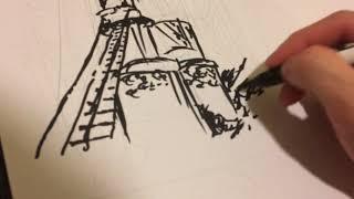 I Draw a Halloween EVS Inspired Comic