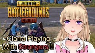 【PUBGM】Clarra Main PUBG Squad Mode Bareng Orang Random !!