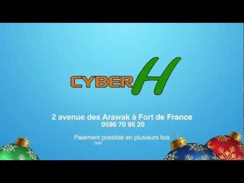 Spot Pub. TV : CYBER H Martinique - Nov. 2012