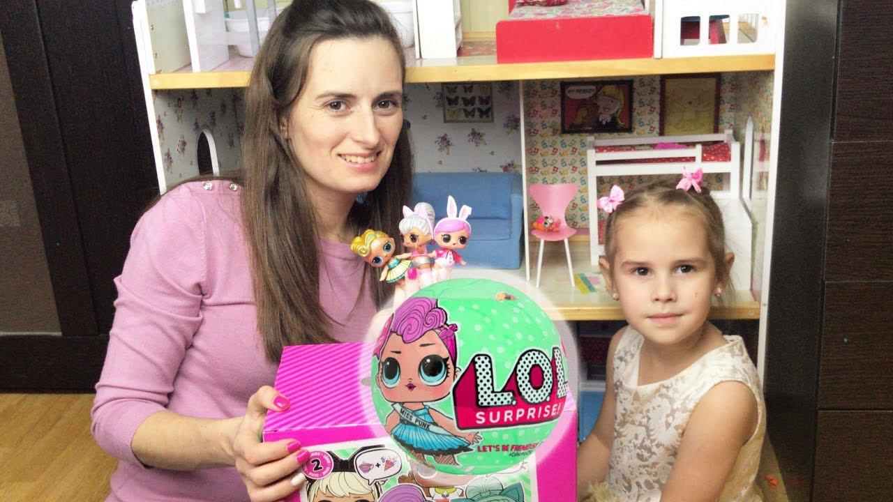 Куклы LOL Surprise Новая кукла ЛОЛ Алина охота на Лол в ...