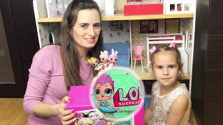 Куклы LOL Surprise Новая кукла ЛОЛ Алина охота на Лол в магазине игрушек  Video for kids