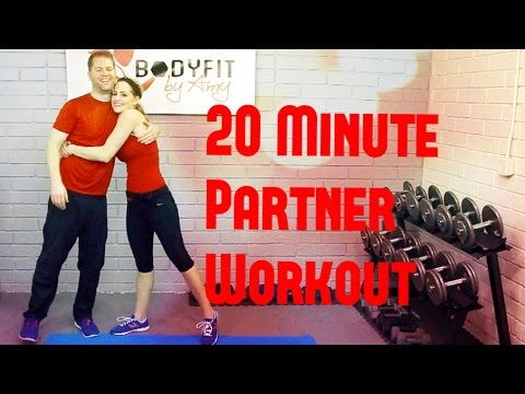20 Minute No Equipment Partner Workout Youtube