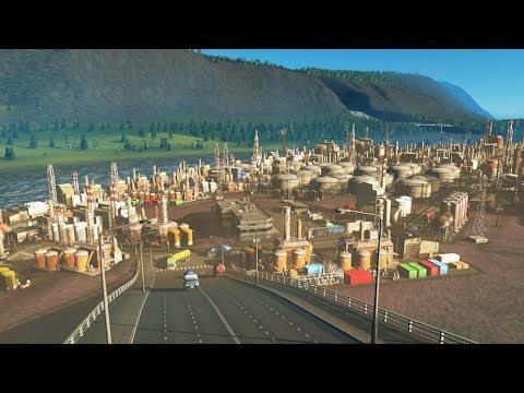 Expanding Cities Skylines by destroying Norway with Oil Industries