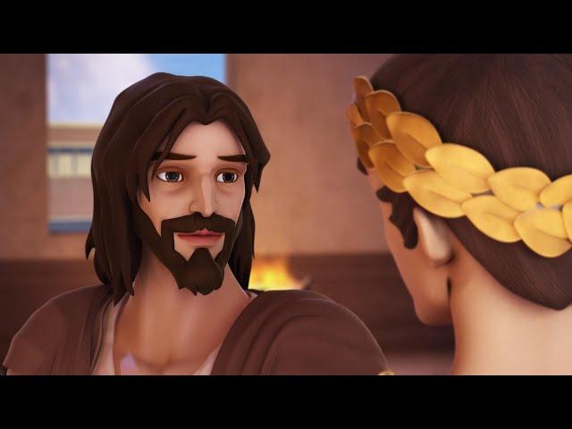 Superbook - Feltámadt, amerikai animációs film magyar szinkronnal