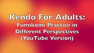 Fumikomi Practice in Different Perspectives (YouTube Version)