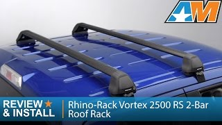 2004-2014 Ford F-150 (SuperCrew) Rhino-Rack Vortex 2500 RS 2-Bar Roof Rack Review & Install