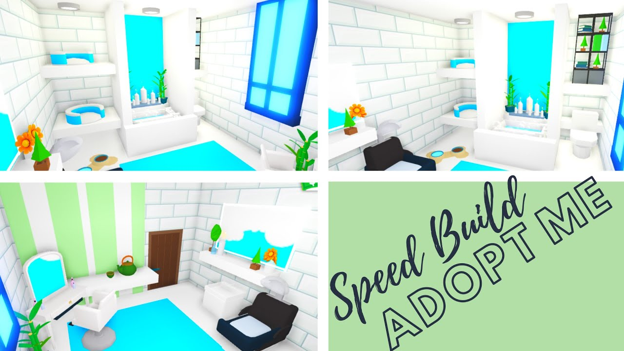 Adopt Me Speed Build Adopt Me Bathroom Design Adopt Me Building Hacks Adopt Me Futuristic House Youtube