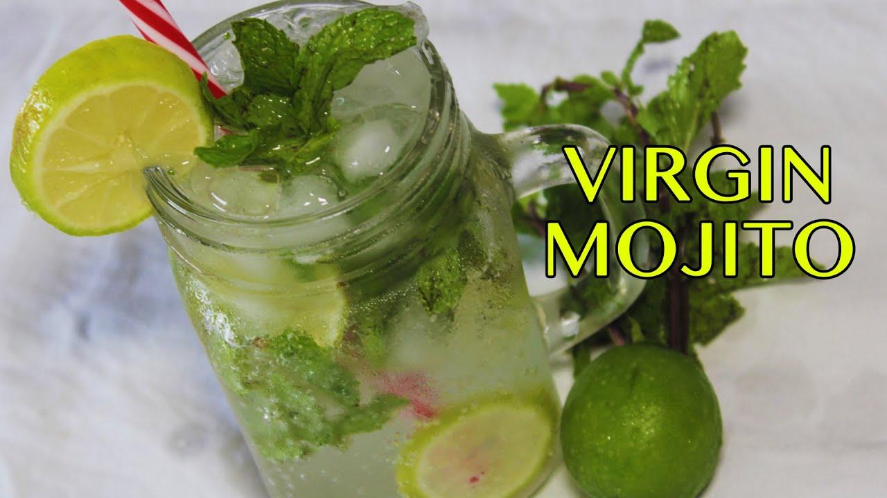 Lemon mojito mocktail - Service a mojito ...