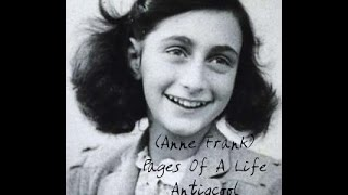 Anne Frank - Pages Of A Life - Antiqcool - Ghostlymuso