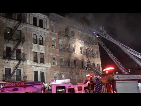 FDNY Fighting 4 Alarm Fire on 85th street and Amsterdam Avenue (FireGround Audio)