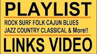 🌸  PLAYLIST LINKS 🌸 VIEW Songs & PLAY ALL  Lists