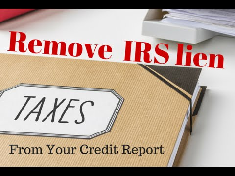 Free Irs Tax Lien Search - Can'T Pay Taxes Owed
