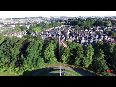 Duthie Park, Aberdeen - Drone Footage - Aeroserv