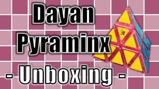 Transparent Pink Dayan Pyraminx Unboxing | TheCubicle.us