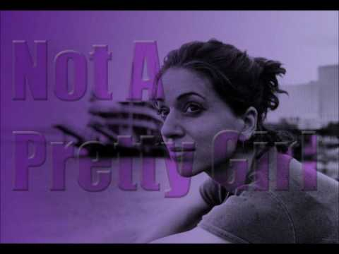 ani difranco not a pretty girl lyric video