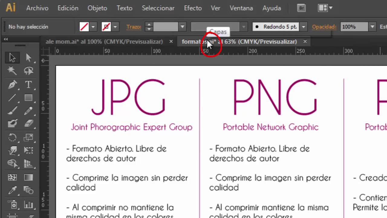 Formatos: JPG, PNG, PDF, EPS by Aleco Design - YouTube