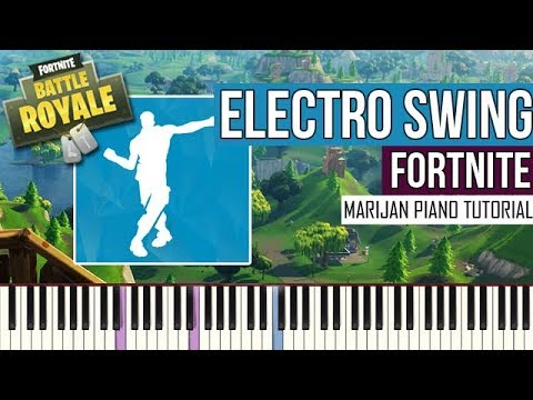 How To Play: Fortnite - Electro Swing   Piano Tutorial