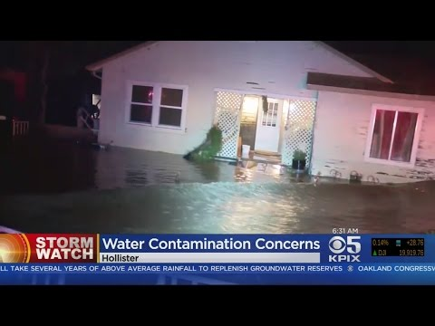 Hollister Investigates Possible Water Supply Contamination After Flooding
