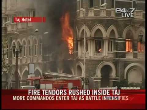 Fire breaks out at Taj hotel as commandos kill last militants