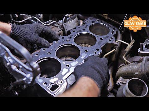 Замена прокладки ГБЦ на Nissan Pathfinder