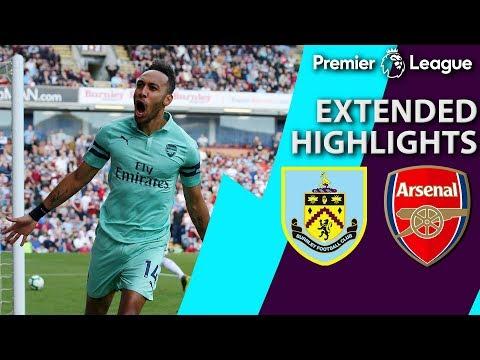 Burnley v. Arsenal | PREMIER LEAGUE EXTENDED HIGHLIGHTS | 5/12/19 | NBC Sports