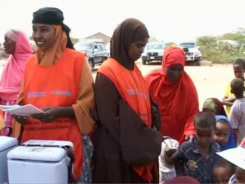 UNICEF: Second round of Child Health Days in Somalia - 동영상