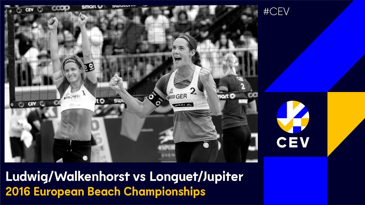 Ludwig/Walkenhorst vs Longuet/Jupiter FULL MATCH - 2016 #EuroBeachVolley