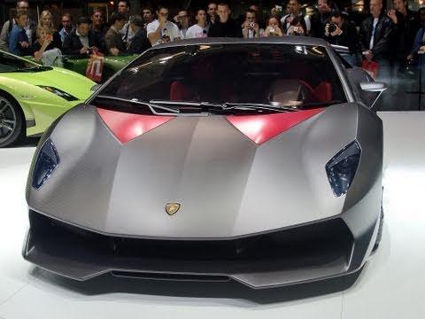 Lamborghini Sesto Elemento Paris Auto Show 2010 Youtube