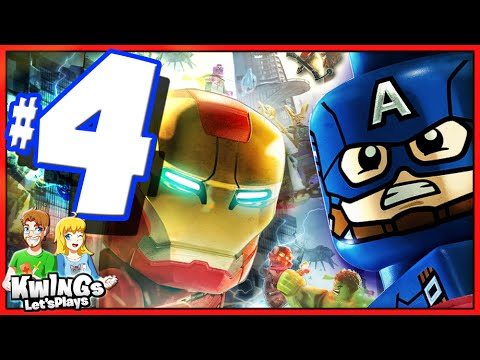 LEGO Marvel Avengers: Walkthrough Part 4 Shakespeare in the Park
