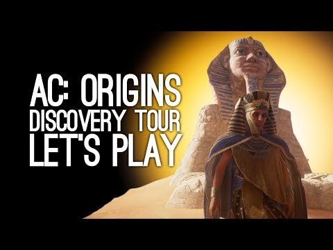 Assassin's Creed Origins Discovery Tour: Let's Tour Ancient Egypt - BRAIN SPATULA?!