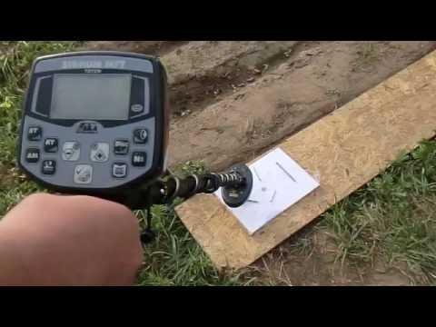 Катушка ака 6х10 20 кгц сигнум про * тест чешуя 20 см в земл.