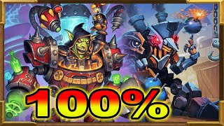 Hearthstone: The Real 100% Winrate Against Hunters, Rogue and Warrior |Super Control Warrior Is Back
