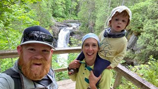 Maine Camping Continued - Moאie Falls!! //Vlog - 04