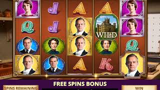 DOWNTON ABBEY: THE GREAT HALL Video Slot Casino Game a FREE SPIN BONUS