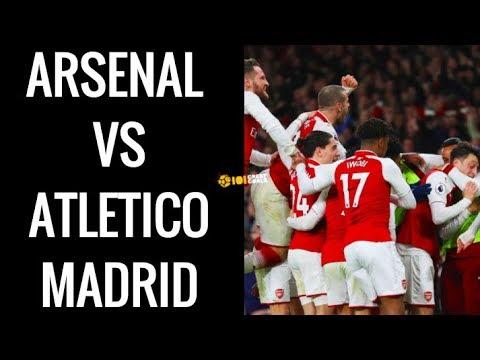 Arsenal vs Atletico Madrid: Europa League preview