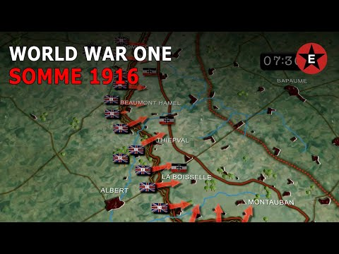 WW1: Battle of the Somme 1916