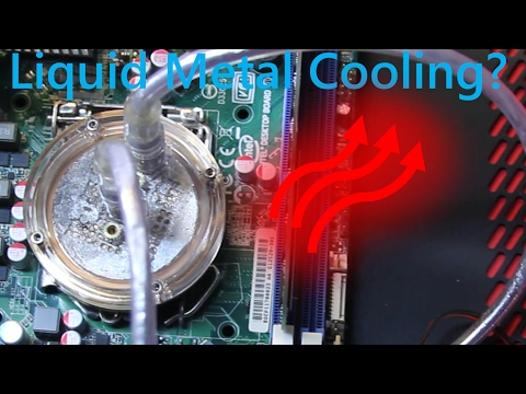 Using Mercury/Gallium as a computer CPU coolant? Ask a Scien