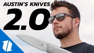 Austin's Knife Collection - Part 2 | Knife Banter Ep. 27