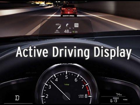 Mazda Active Driving Display Youtube