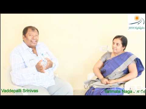 # 10 - An Interview with Folk Singer Vaddepalli Srinivas Part 1 - Gabbarsingh movie song fame.