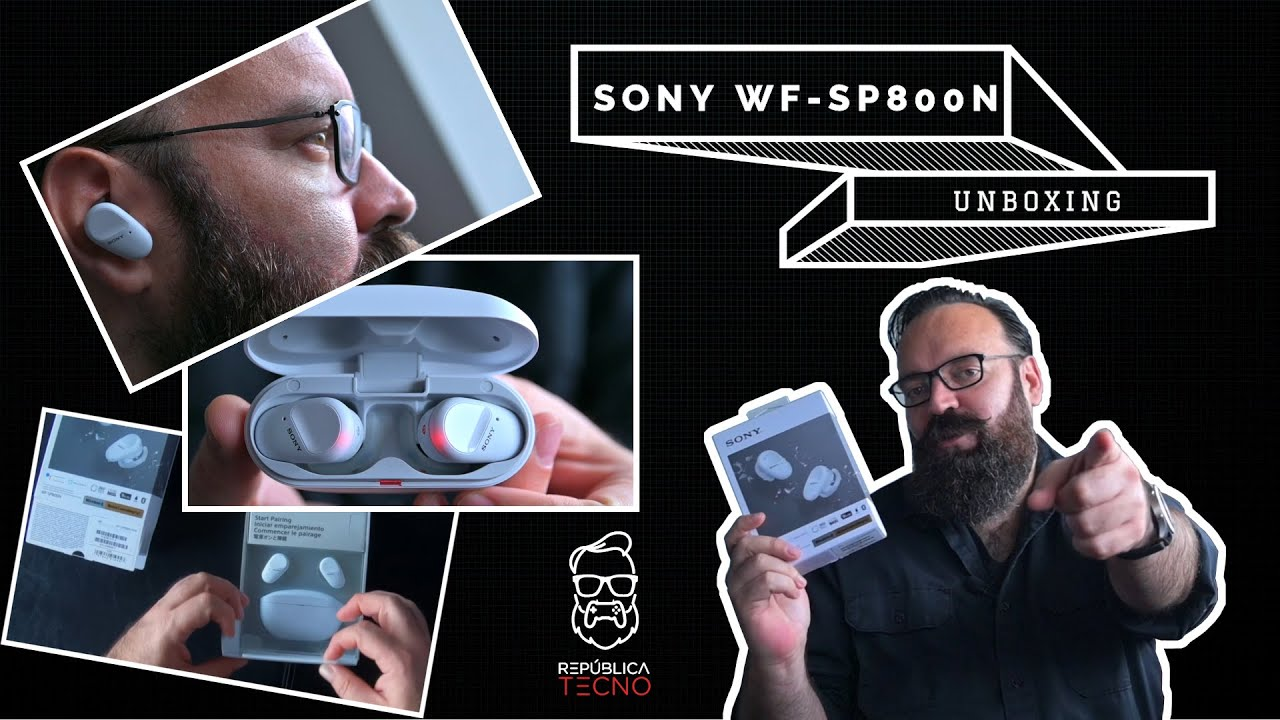 Unboxing: WF-SP800N, audífonos inalámbricos, deportivos y bastante pontentes
