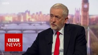 Jeremy Corbyn on Andrew Marr Show (FULL Interview)- BBC News thumbnail