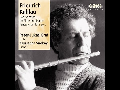 Classical Flute, Peter-Lukas Graf - Grande Sonate Concertante in A Minor Op. 35 / Friedrich Kuhlau