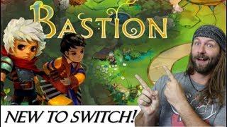 Bastion Review (Base Builder Adventure RPG - Indie Game)