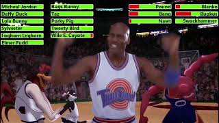 Space Jam (1996) Last 3 Games with healthbars