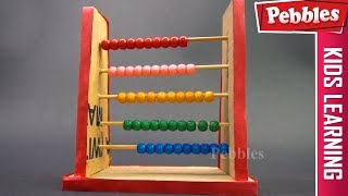 How to Make Abacus | School project for Maths | School Project for Kids
