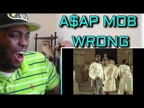 A$AP Mob - Wrong (Official Video) ft. A$AP Rocky, A$AP Ferg REACTION!!!
