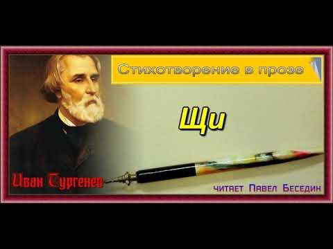 Щи  —Иван Тургенев  —Стихотворение в прозе —читает Павел Беседин