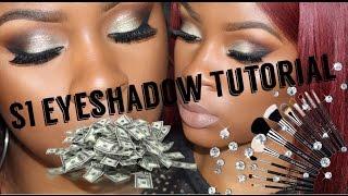 $1 Coastal Scents Hot Pots Eyeshadow Tutorial