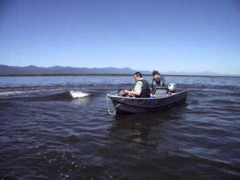 Upper Klamath Jet Ski at Full Speed !